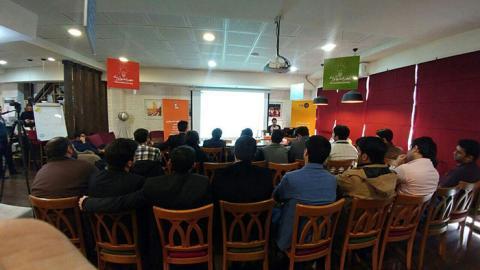 کارگاه آموزشی اولین دورهمی دروپال کلاب ایران